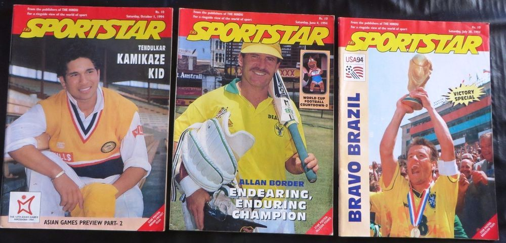 Details about The Sportstar Vintage sports Weekly magazine pub The