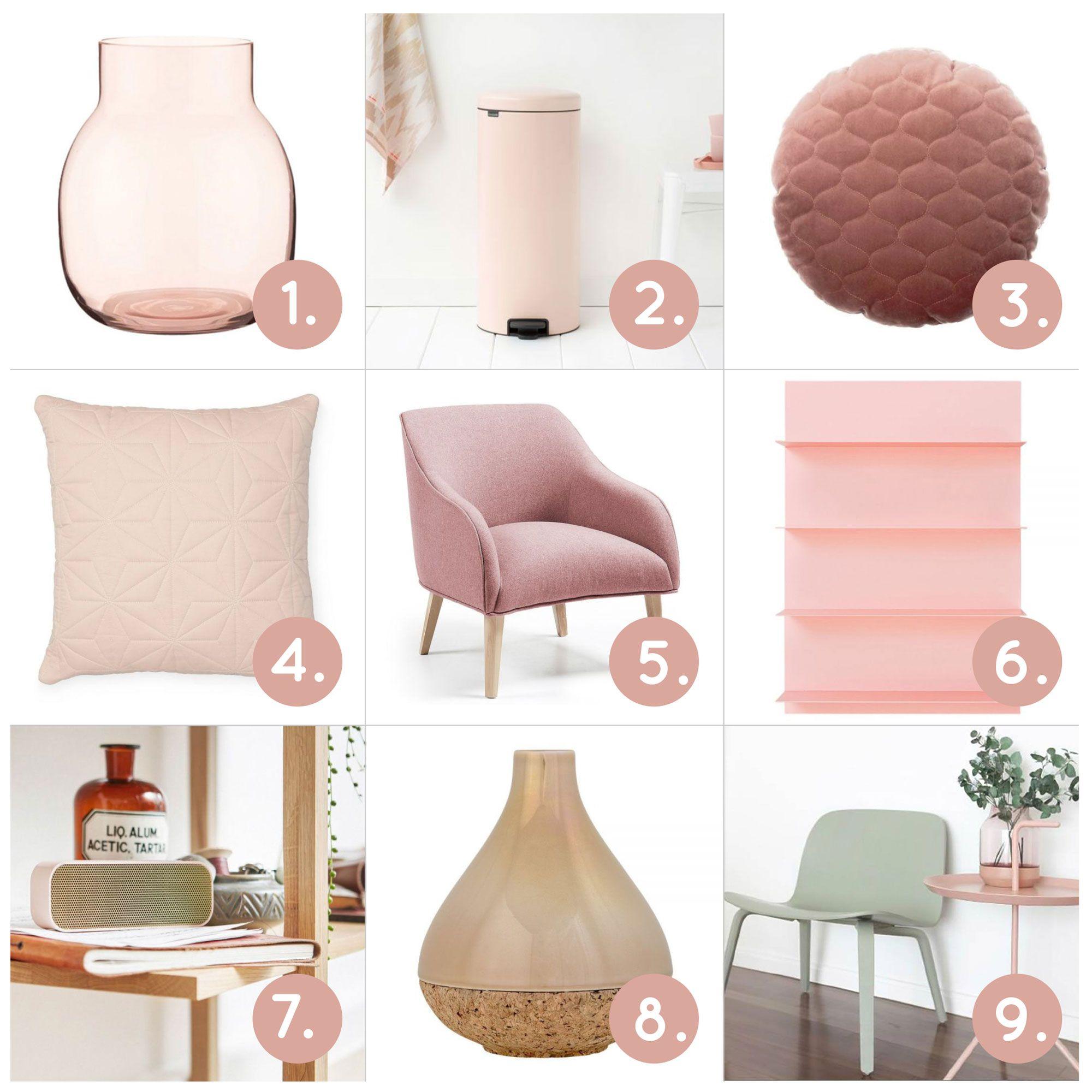 De kleur van 2018 is Roze in al zijn tinten. Van nude, poederroze ...