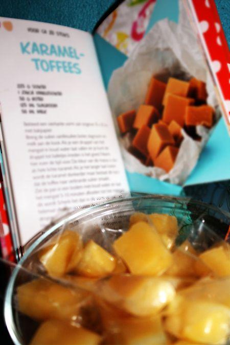 Caramel toffees