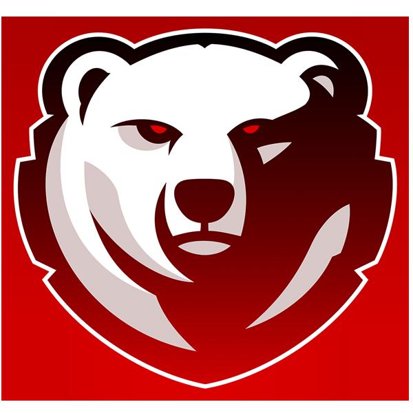 Northern_Gaming_Red_logo.png (600×600) Bear logo design