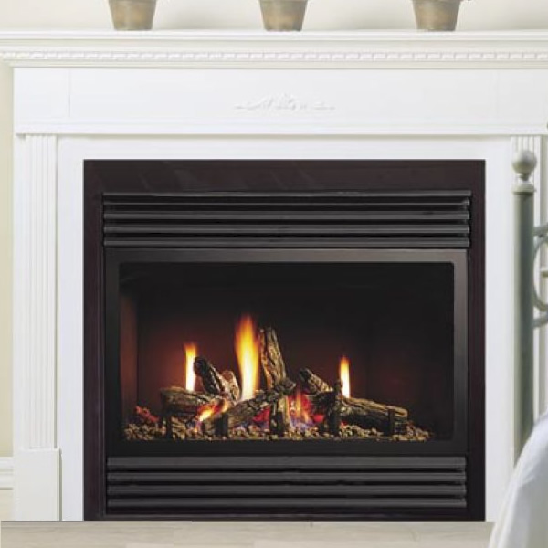 Kingsman Zdv3318 Zero Clearance Direct Vent Gas Fireplace Heater