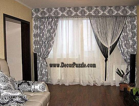 french country curtains style 2015, black and white curtains 2016 ...