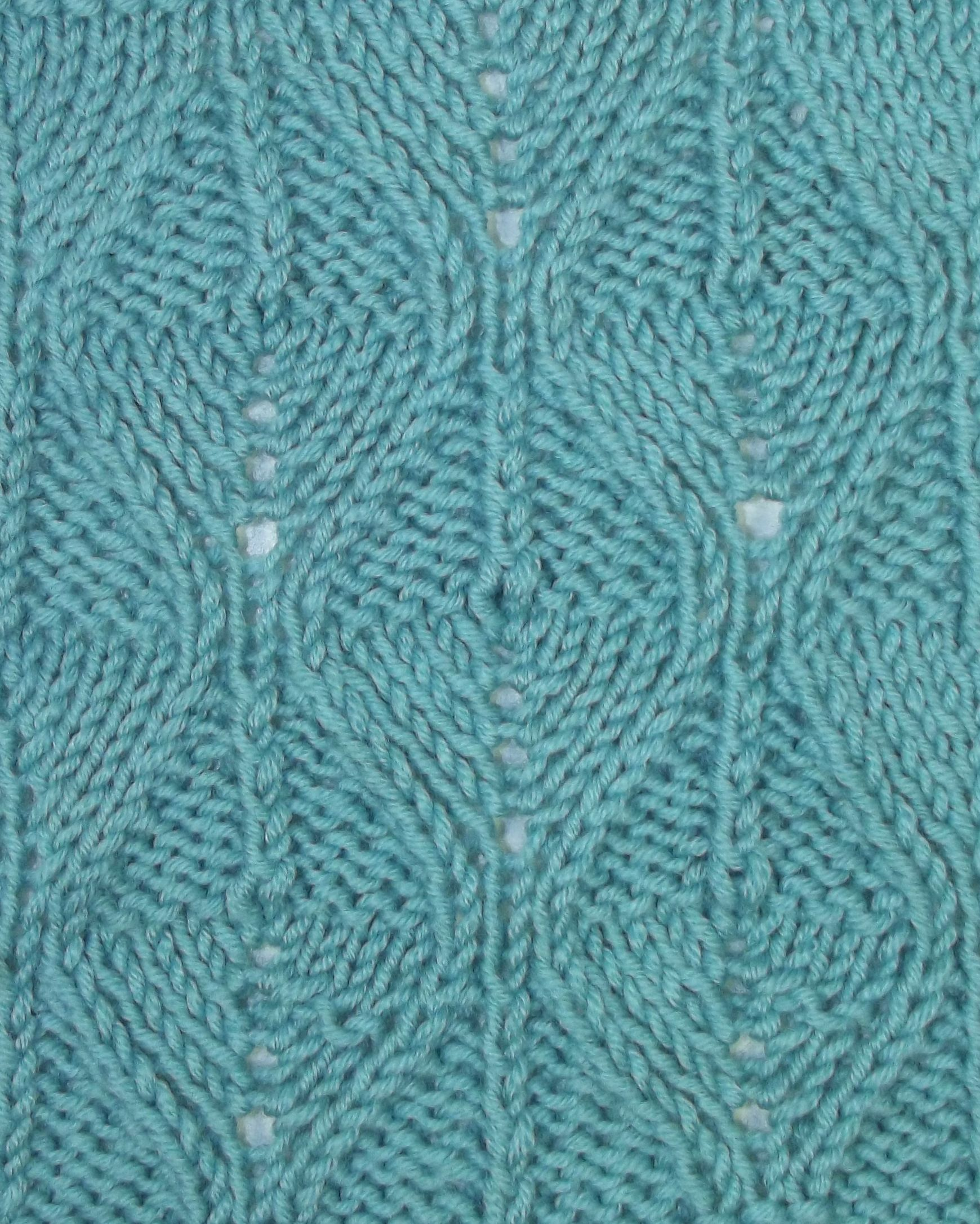 Reversible Fern Stitch. Can\'t find instructions, but looks like ...