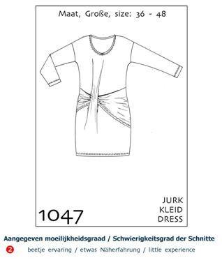 it'sAfits Schnittmuster 1047 - Kleid von heartflower®  - Der Stoffladen auf DaWanda.com