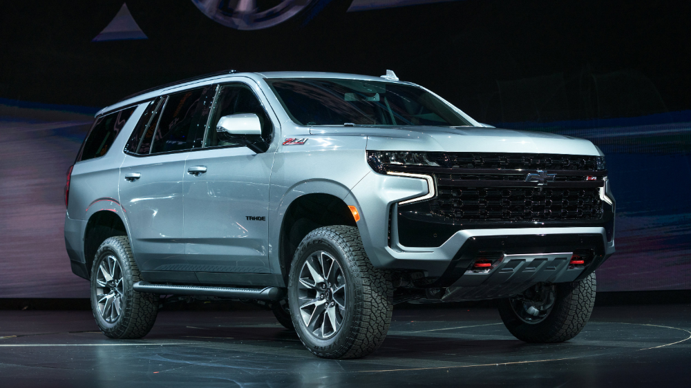 2021 Chevy Tahoe and Suburban event photos Photo Gallery