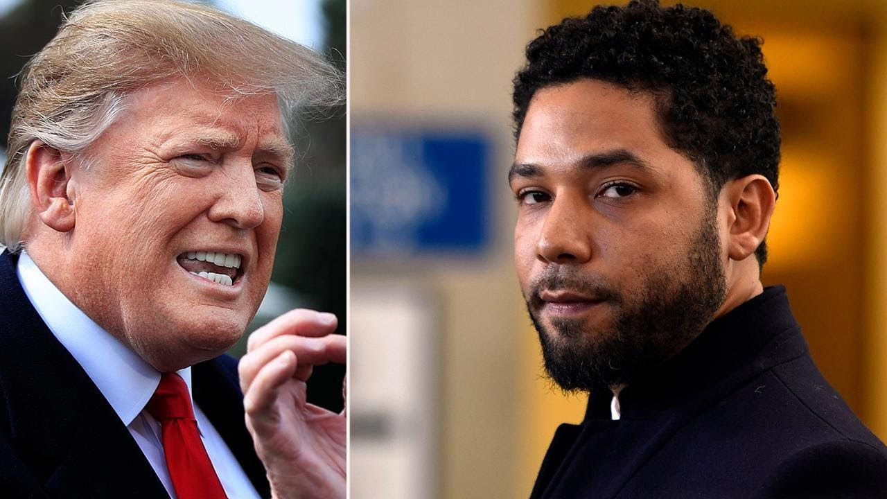 Trump FBI, DOJ to review Jussie Smollett case Trump