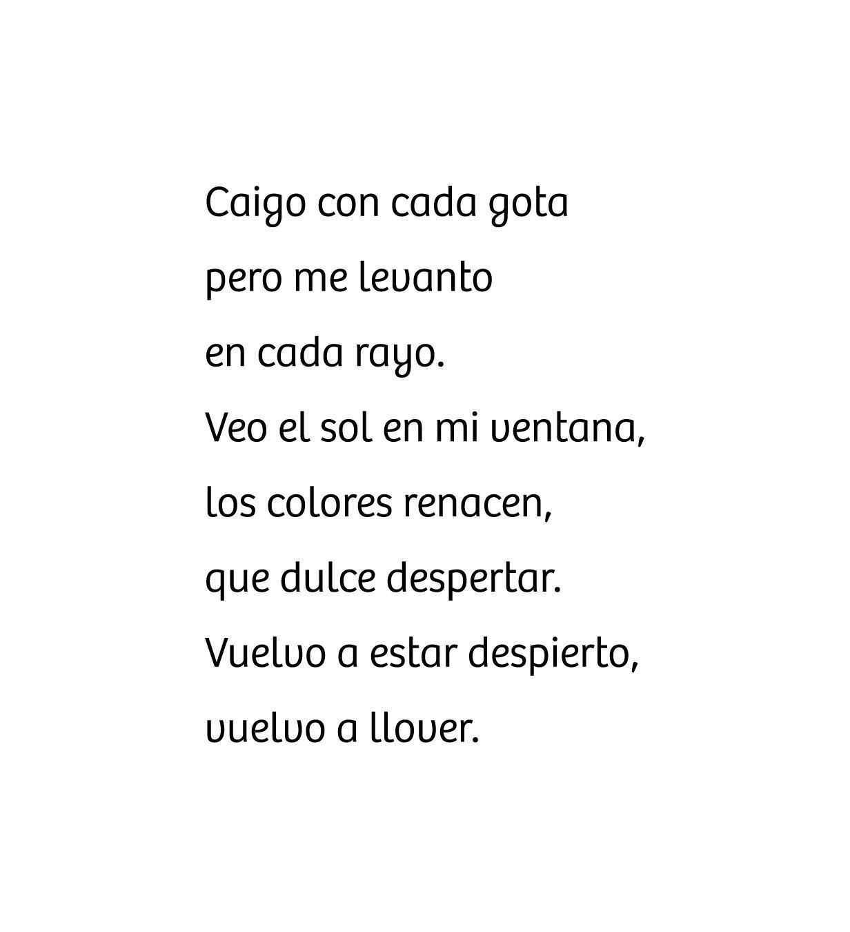 Llover.