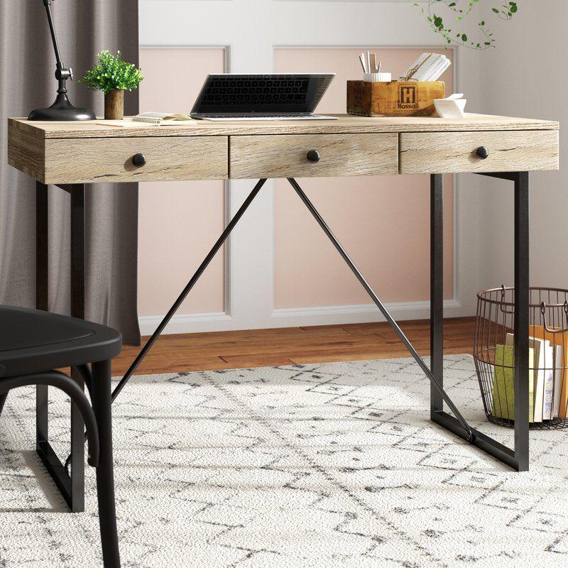 Gaylynn Writing Desk Solid Wood Desk Furniture Wood Desk