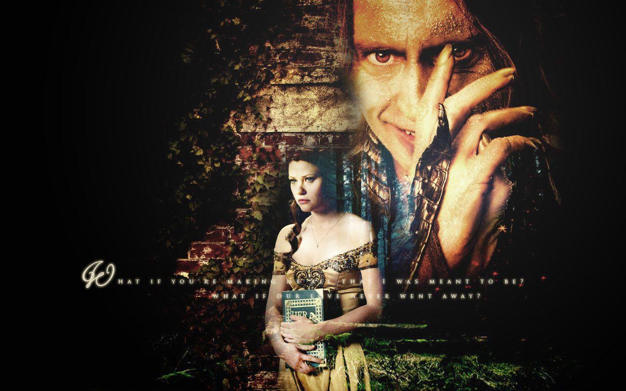 Once Upon A Time Wallpaper Rumpelstiltskin Belle Once Upon A Time Rumpelstiltskin Belle