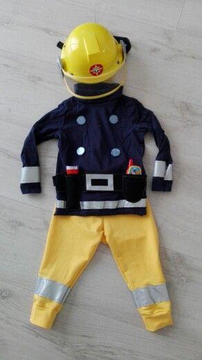 Feuerwehrmann Sam Kostüm selbst gemacht. | Helau &Alaaf ...