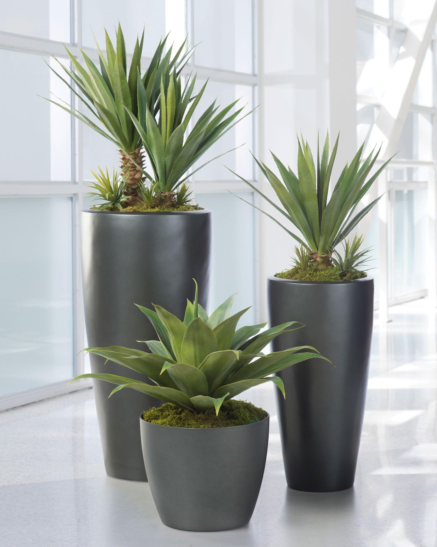Medium Agave Americana Artificial Plant   Silkflowers.com