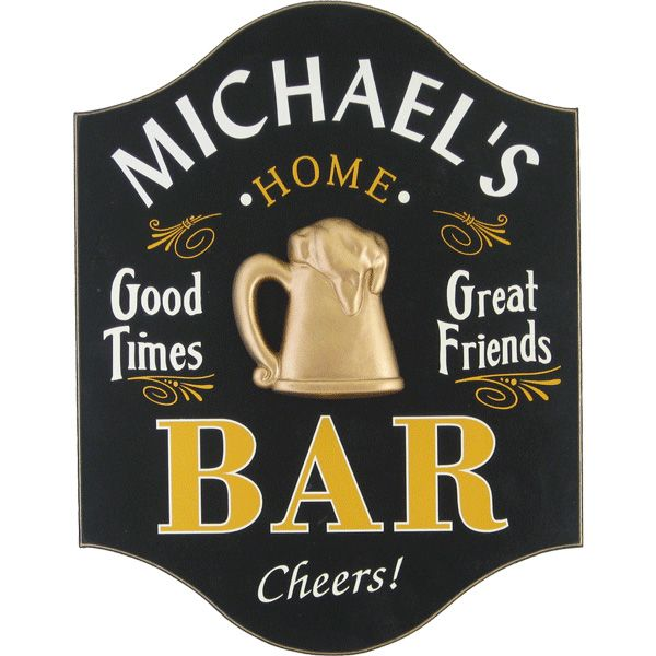 Bar Decor Signs 10 Home Bar Decor Ideas  All Gifts Considered  Bar Bar Hichic