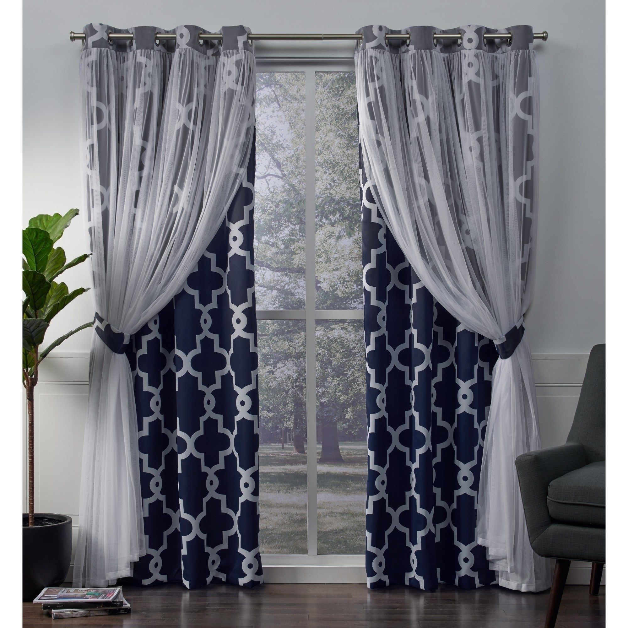 Ati Home Alegra Thermal Woven Blackout Grommet Top Curtain Panel