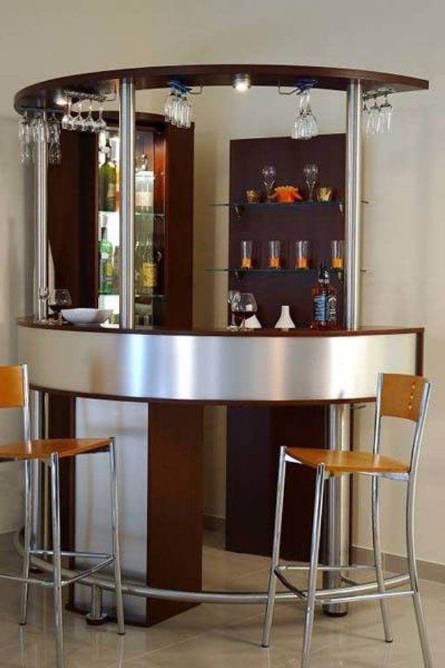 Los mini bares para nuestro hogar son una opci n ideal for Modelos de barras de bar para casas