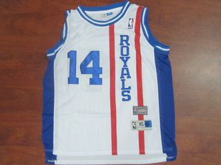 8d4fd4dea95 ... sacramento kings nba cheapcincinnati royals 14 white oscar robertson  throwback jersey