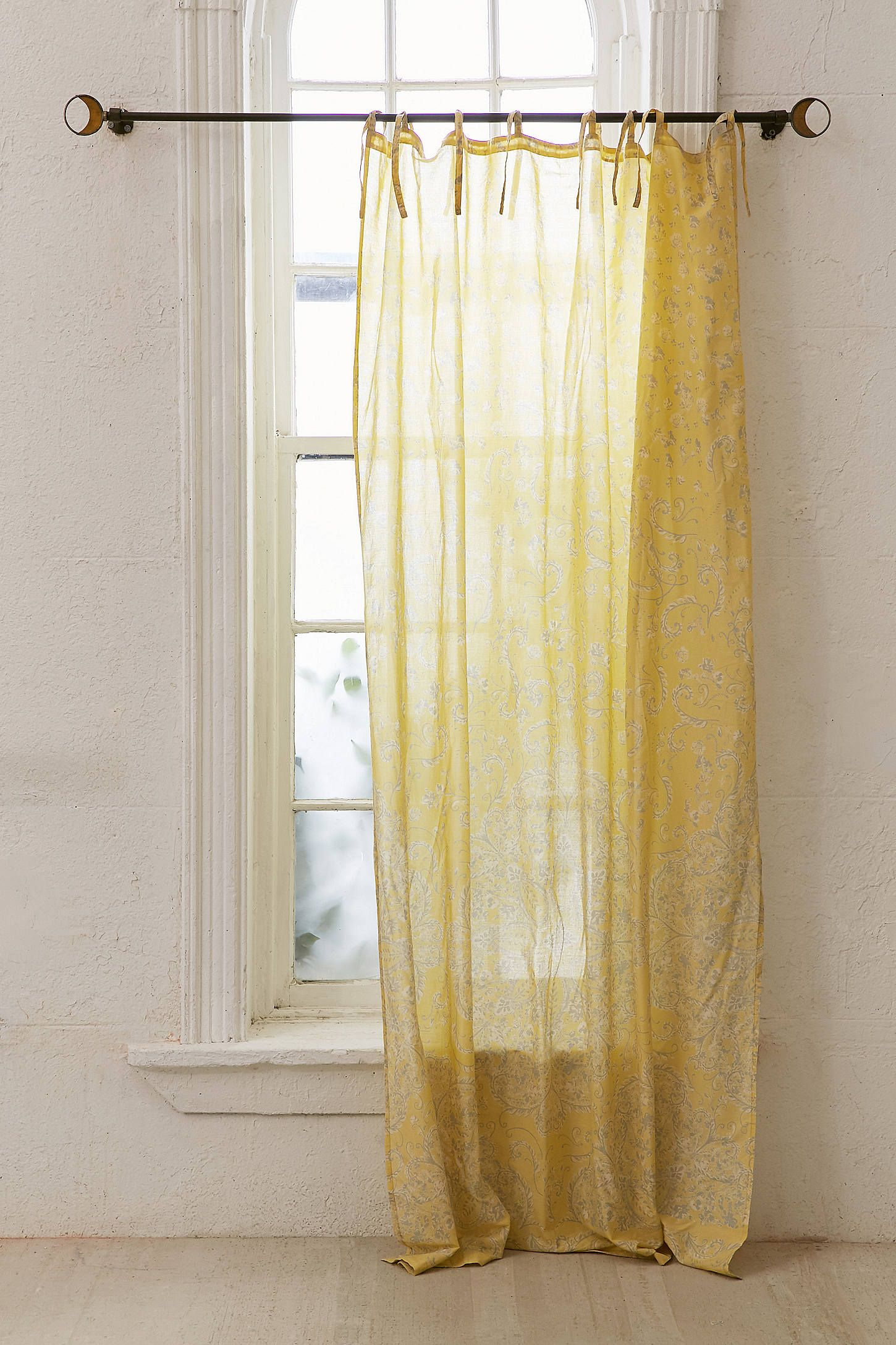 Lucy Boho Print Window Curtain With Images Boho Style Curtains