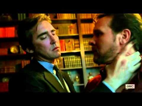 """halt and catch fire s01e03 Lee Pace kiss scene - YouTube"" — Aaand I'll just leave this here. ;) (Seriously, this is still the hottest thing I've seen all year. Every bit of it is sexy. I love how aggressive Joe is. And the way he looks at Travis as he's taking off his jacket at the end...unf. *ovaries vaporize*)"