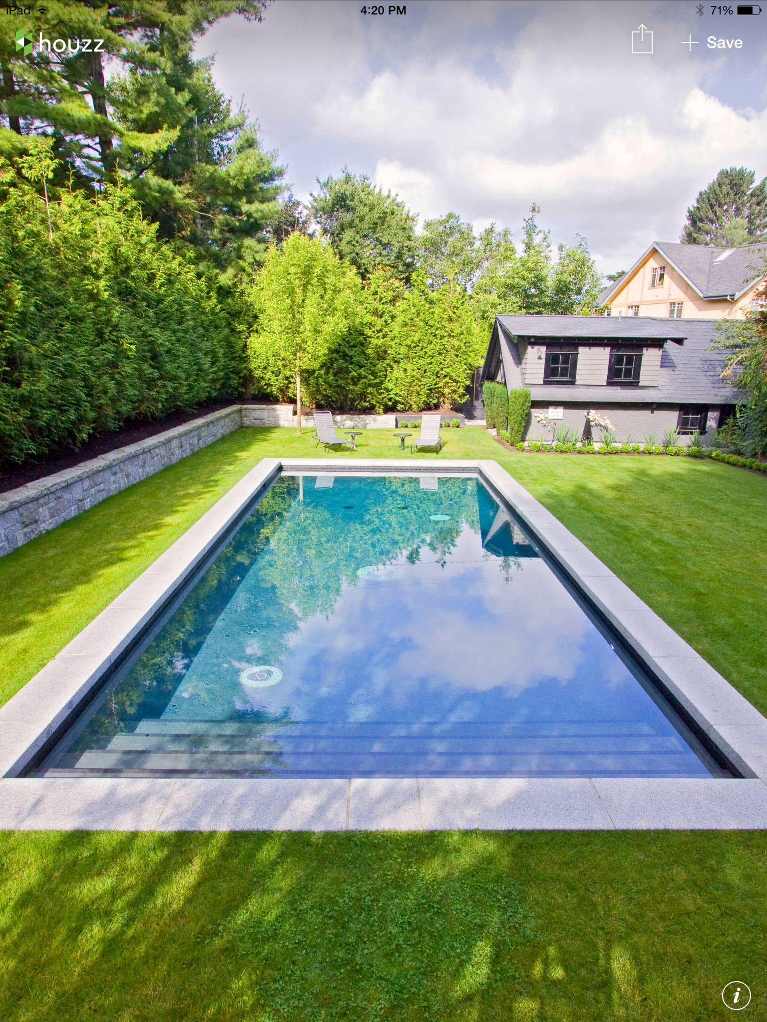 Simple Classy Pool Simple Pool Swimming Pools Backyard Small