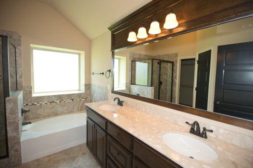 Beautiful Master Bathroom with Double Vanity | 6304NW 158th Terrace, Edmond, OK | Deer Creek Park