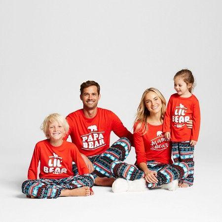 Womens Mama Bear Pajamas Anthem Red Xs Target