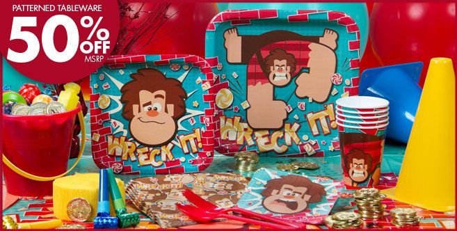 Wreck It Ralph Party Supplies Party City With Images Adult