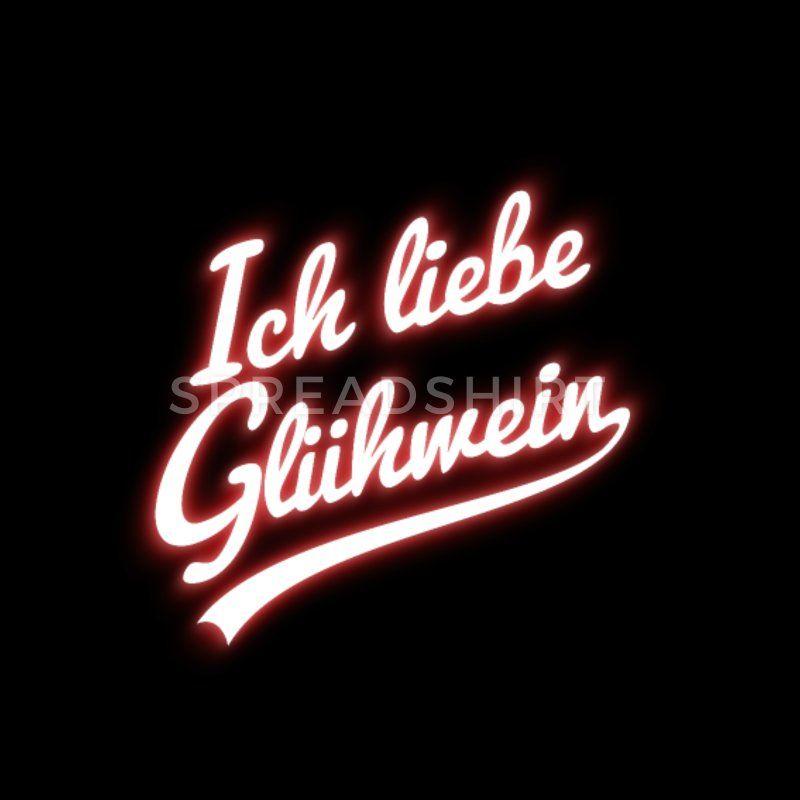 Gluehwein Unisex Hoodie - Schwarz | Design Ideen | Pinterest | Design