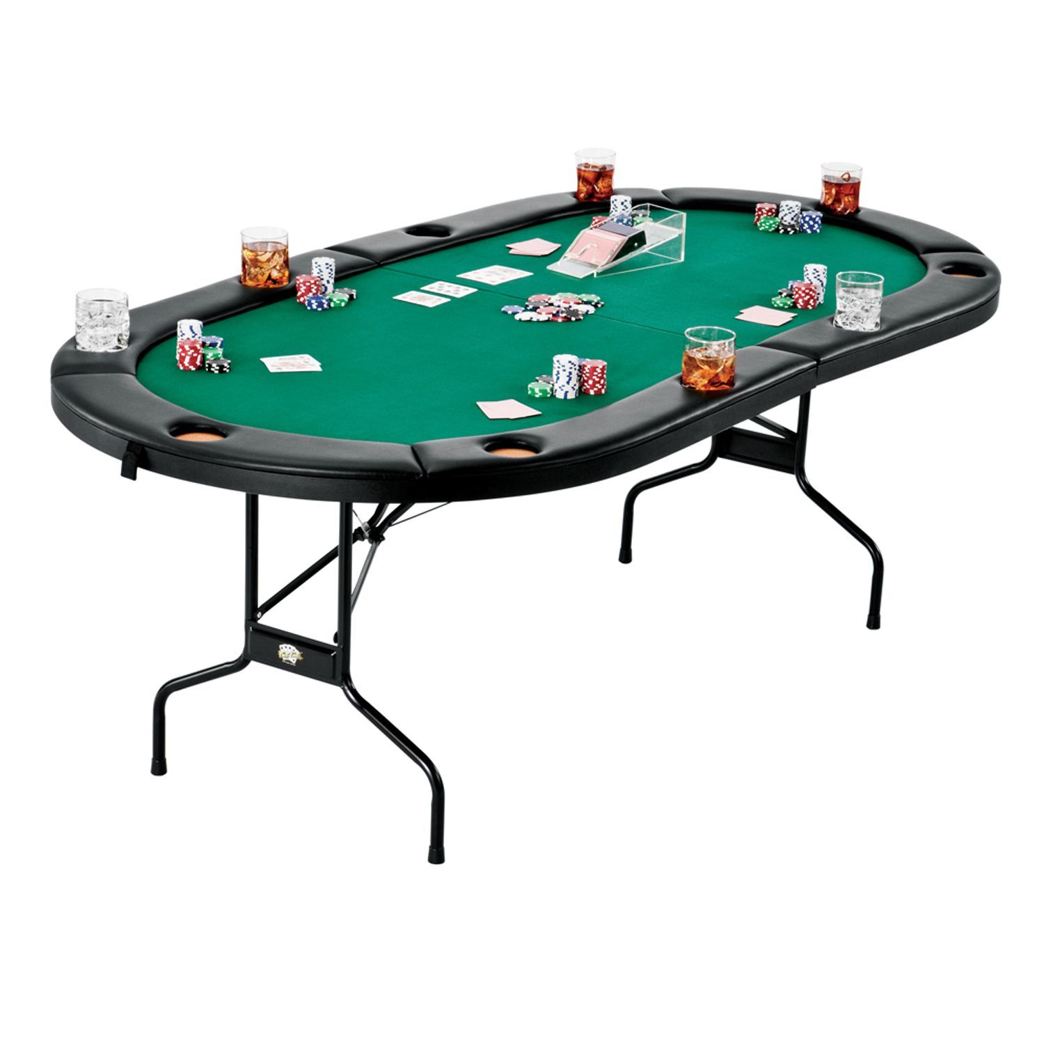 Fat Cat Folding Texas Hold 'Em Table