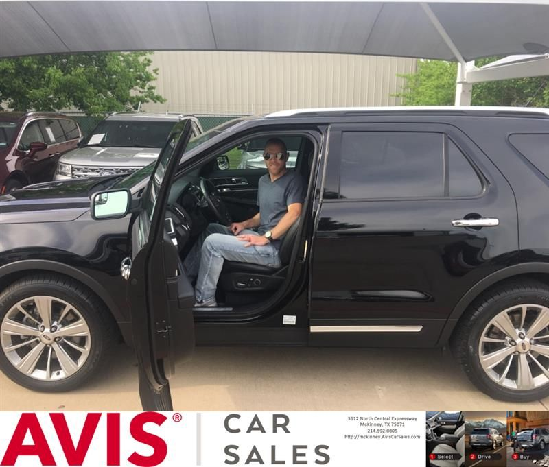Congratulations Cory On Your Ford Explorer From Thomas Rintoul