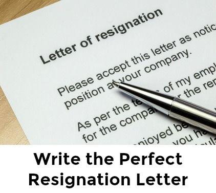 Free Sample Resignation Letter Pinterest Resignation letter and
