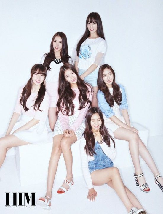 G-Friend bring some of their lovable youthfulness to the pages of 'HIM'