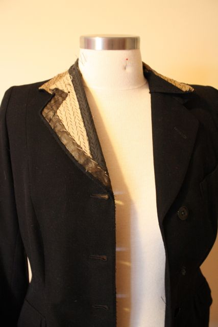Tailoring tips from a 40s jacket deconstructed (Gertie's New Blog for Better Sewing: 40s Jacket Deconstruction)