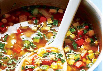 Soupe alphabet aux légumes | Recettes de cuisine, Repas