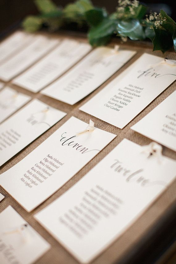 Escort card display | Wedding & Party Ideas | 100 Layer Cake