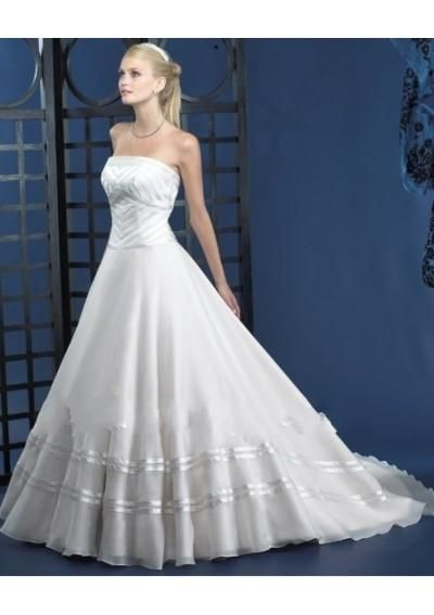 Simple Wedding Dresses WD 0390 Used Dress