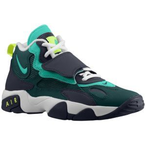 wholesale dealer 66ed2 96dcd Nike Air Speed Turf - Boys  Grade School - Sanders, Deion - Black Court  Purple Anthracite Stadium Green