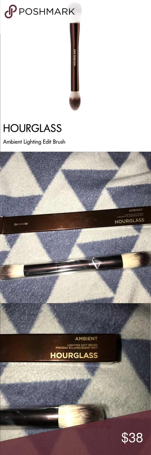 NEW••HOURGLASS AMBIENT LIGHT EDIT BRUSH New in box. Have a