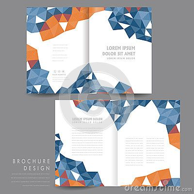 Attractive Half Fold Brochure Template Design Print Design 1