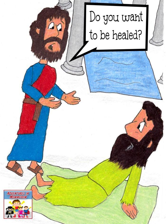 Jesus Heals The Man At Pool Sunday School Lesson