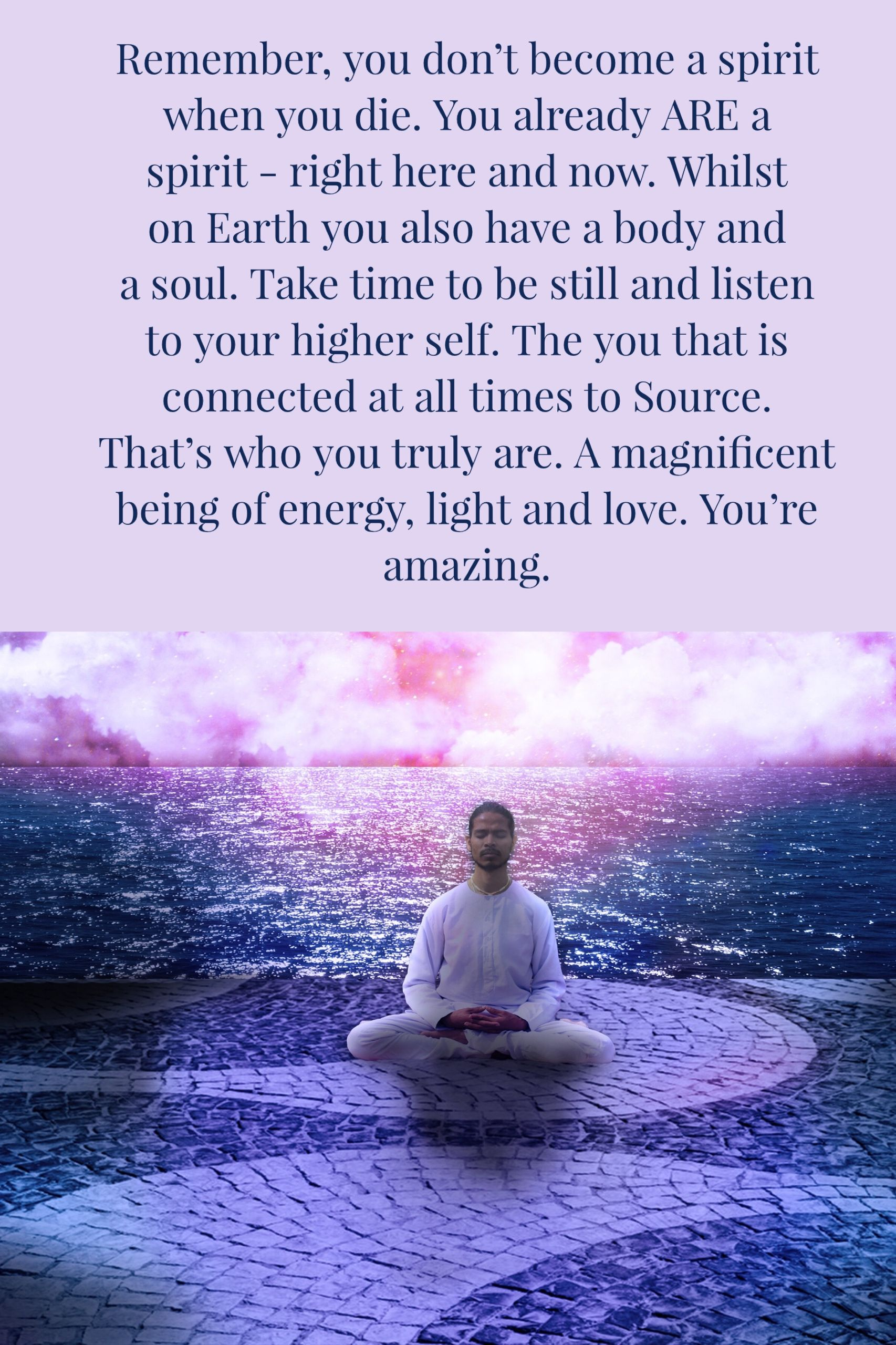 Believe: Get in touch with your higher self | Spiritual ...