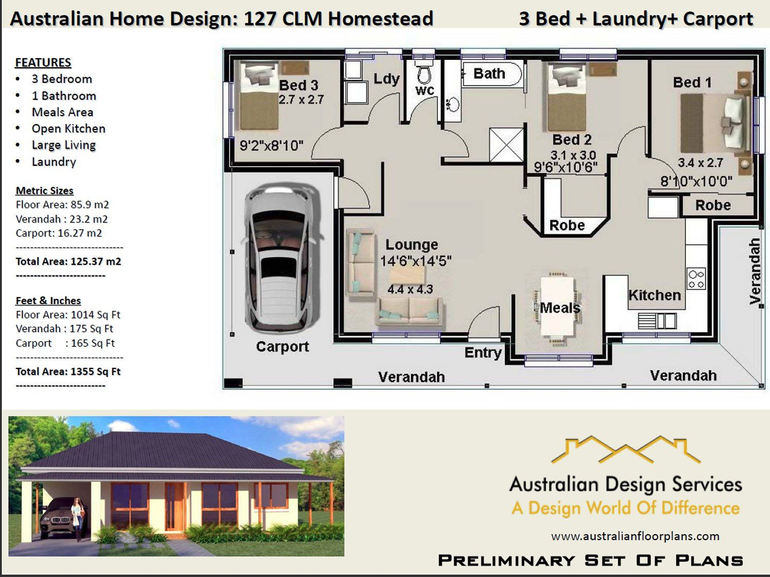Country Style Homestead Colonial House Plans Country House Plans Garage House Plans