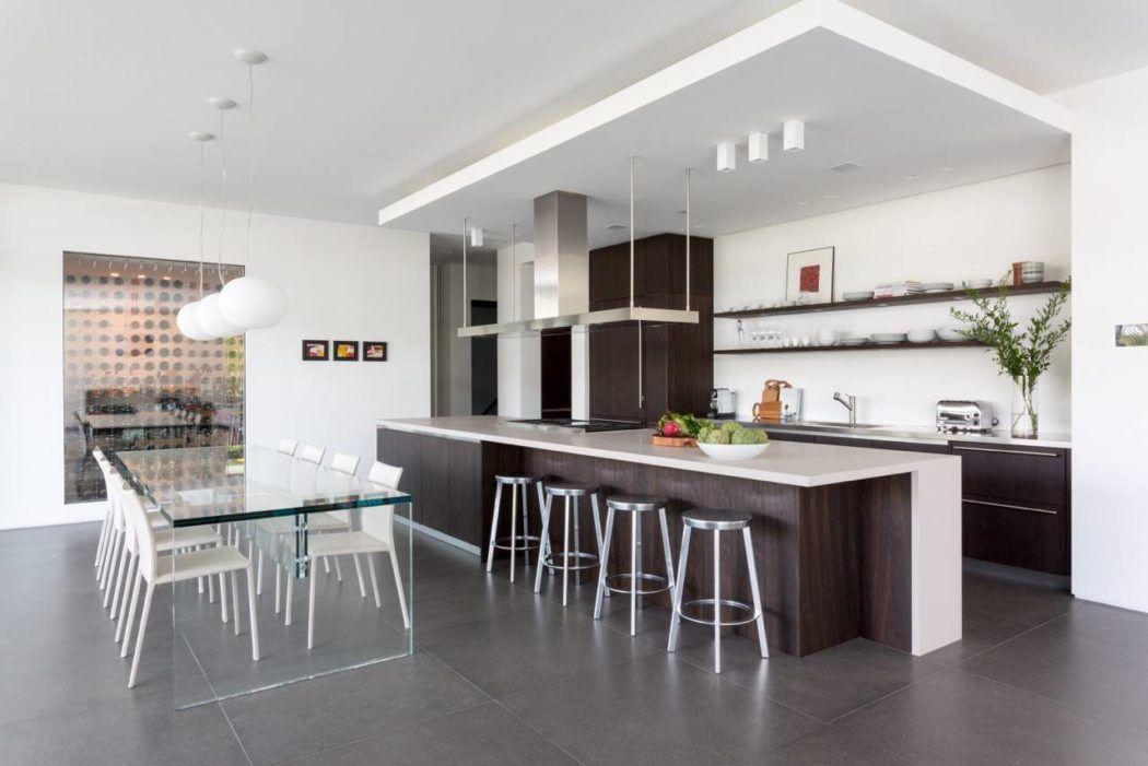 Hucker Residence By Strang Architecture Homeadore Popular Kitchen Designs Kitchen Interior Kitchen Design