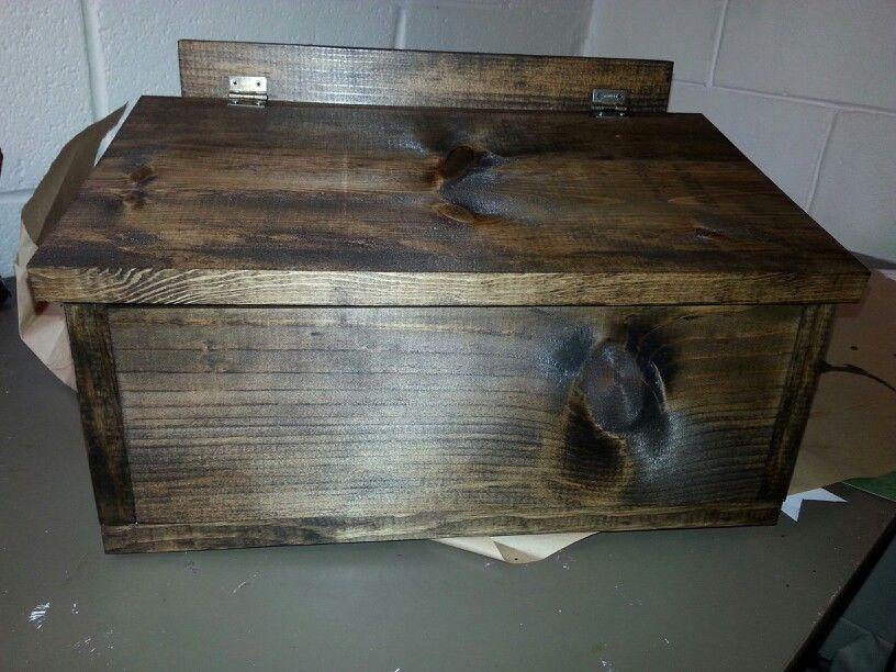 Salt box for outside the front door