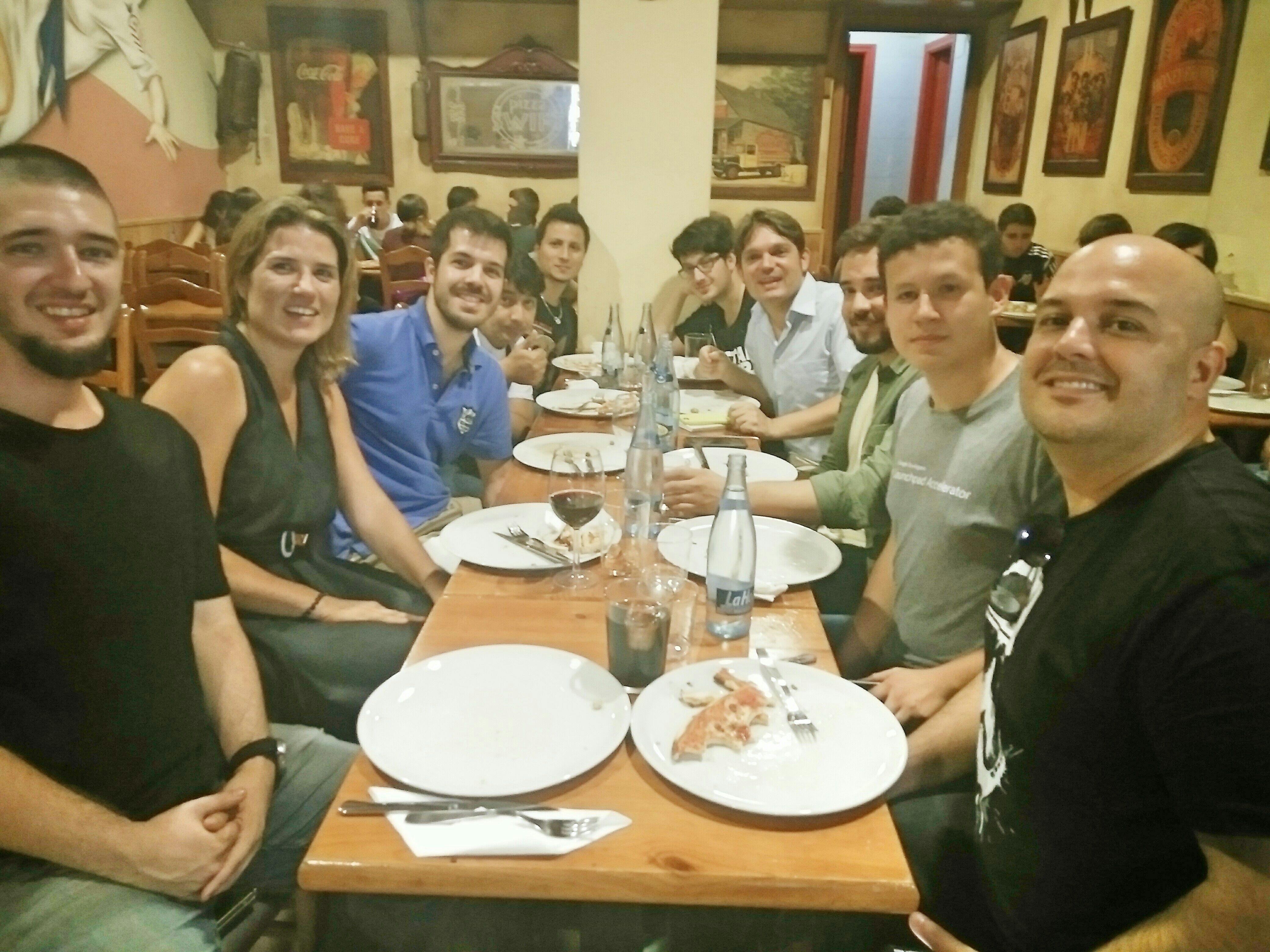 Meeting like-minded digital lovrs in VLC tonight 😀Cngrts 4 the event guys! Startup Vendetta Ferran Arricivita Juan Pablo Rojas Daniel Martínez