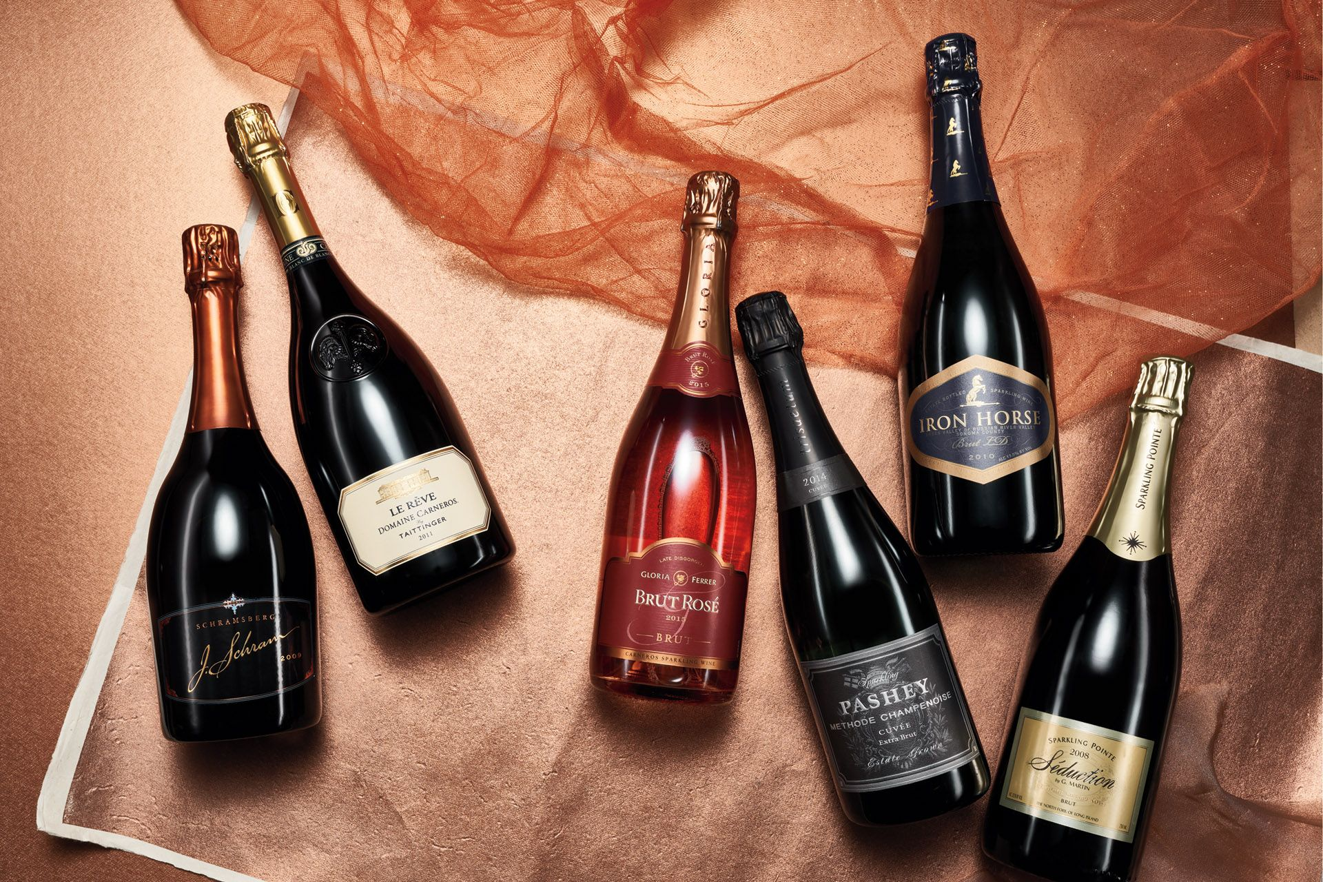 Your Guide To Must Have Sparkling Wines From Around The World