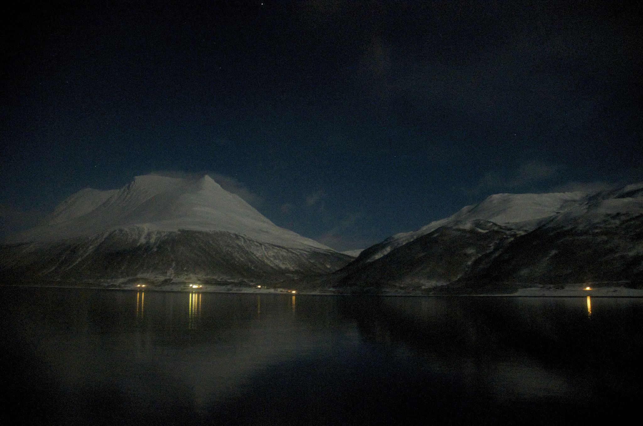 THE ARCTIC: A YEAR IN PICTURES. Night falls in Norway. © Mia Bennett