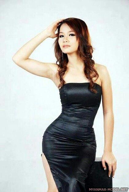 Myanmar sexy Model Mädchen Fotos