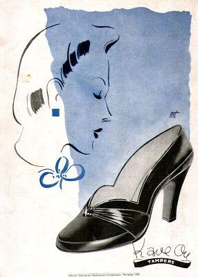 Mainos Kave-kenkä (1939)