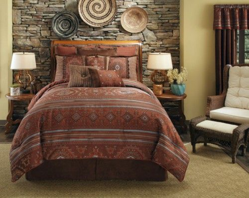 Pueblo Southwestern Native American Bedding By Veratex Is Perfect
