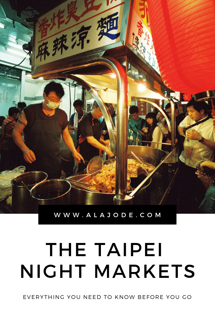Visiting A Taipei Night Market: A First Timer's Guide The Taipei night markets: Everything you need to know for your trip to Taipei. If you're visiting Taiwan, the famous night markets are one of the coolest things to do in Taipei. Here's everything you need to know about the Taipei night markets, including when to go, which night markets in Taipei to visit and Taiwanese street food to try while you're there.