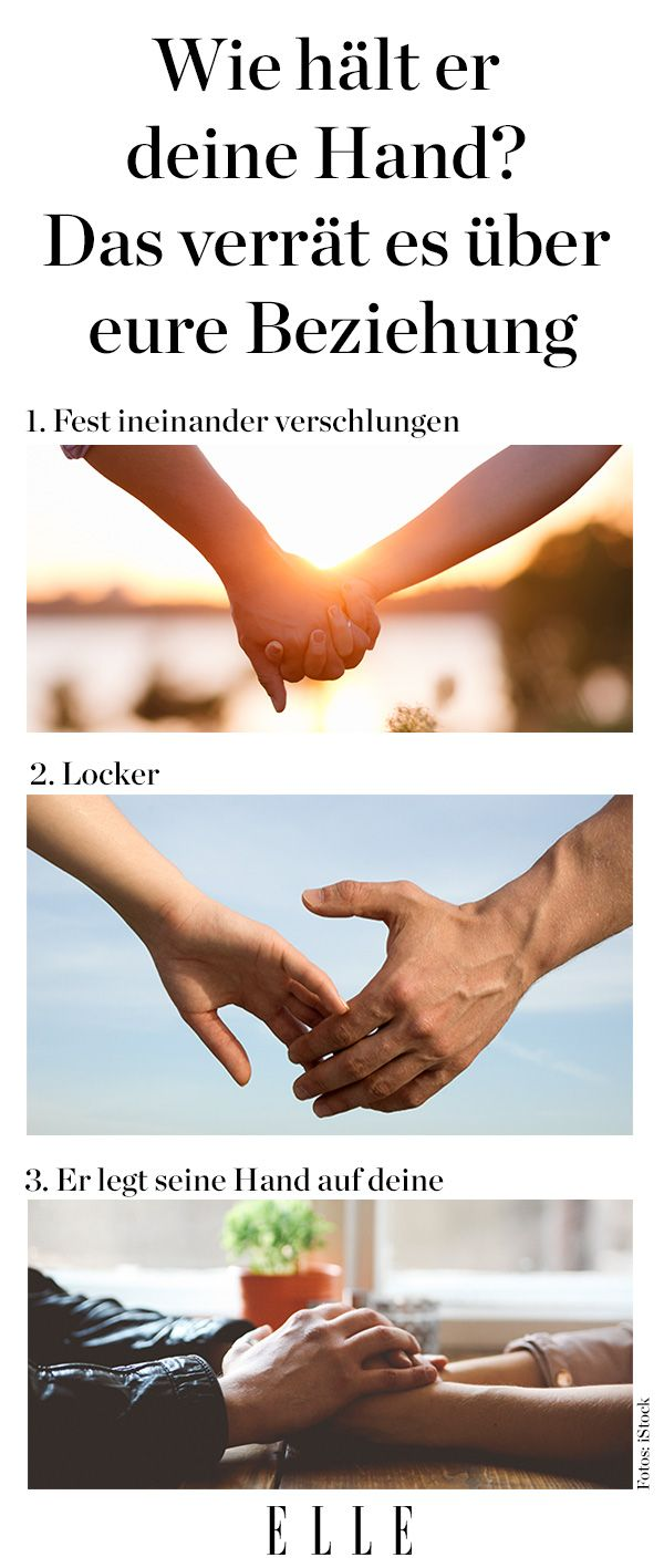 Nov. 2014. Das Beste am Händchenhalten aber ist: Man muss es als Teenie nicht üben wie die Zungenküsse.